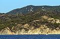 026 Costa de Tossa de Mar, puig d'en Pela, a la dreta Can Ferrer.JPG