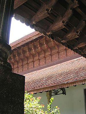 Kuthira Malika - A view of the 'horses' at Kuthira Malika