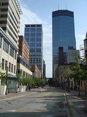Nicollet Avenue - The Nicollet Mall portion