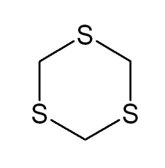1,3,5-Trithiane - Image: 1,3,5 Trithiane