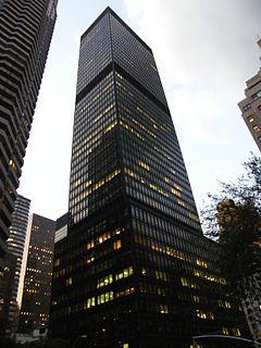 One Dag Hammarskjöld Plaza Office skyscraper in Manhattan, New York