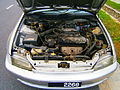 1.6L Honda VTEC engine in a 1992 Honda Civic EH5 saloon in Puchong, Malaysia (01).jpg