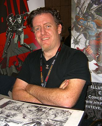 Steve Ellis (comics) - Ellis at the 2011 New York Comic Con.