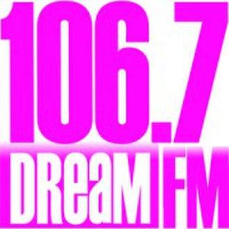 DWET-FM - Dream FM logo