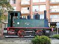 108 Màquina de tren a la cruïlla de la Rambla i el c. Galileu (Terrassa).jpg