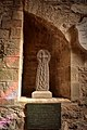 10th Century Celtic Cross St Martins Church Laugharne.jpg