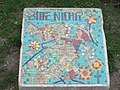 1210 Aistgasse 8-30 - Mosaik-Verhaltensregel (2) von Hilde Leiter 1969 IMG 3519.jpg