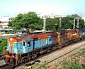 12806 SC-VSKP Janmabhoomi Express with WDM3A and WDG3A locos.jpg