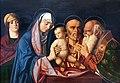 1495 Bellini Darbringung Christi im Tempel Gemäldegalerie Kat.Nr. 36 anagoria.jpg