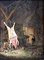 1643 van Ostade Geschlachtetes Schwein in einer Scheune anagoria.JPG
