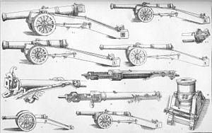 Demi-cannon - Image: 16th Century Artillerie