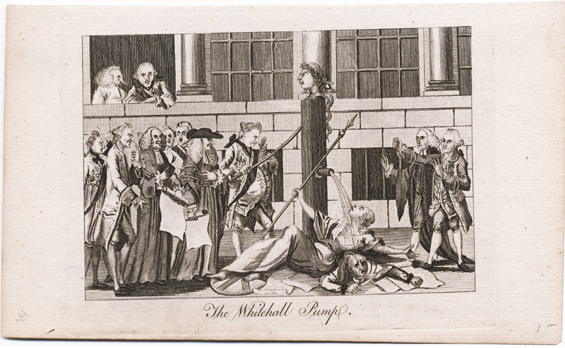 1774 Whitehall Pump Cartoon