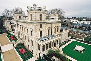 Lakshmi Mittal - Mittal's residence, 18–19, Kensington Palace Gardens, London.