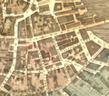 1814 Exchange Coffee House on Congress Street Boston detail of map by Hales BPL 12926.png