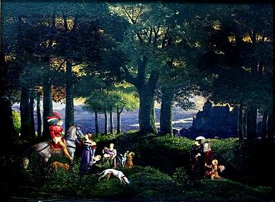 1816 Fohr Der verirrte Ritter anagoria.JPG