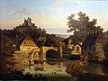 1853 Geist Fränkisches Dorf mit der Burgruine Trimberg Historisches Museum Bamberg anagoria.jpg