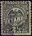 1886 2halfc Colombia used YvRetard1 Mi95.jpg
