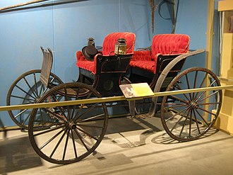 Surrey (carriage) - Image: 1890 Carriage Model