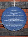 1896-1956 This plaque was unviled on 26 June 1989 by the Right Honourable The Lord Mayor Sir Christopher Collett GBE MS DSc.jpg