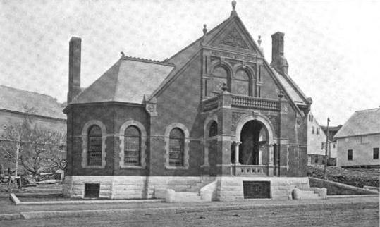1899 Gardner public library Massachusetts