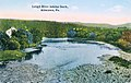 1910 - Lehigh River Looking South - Saegers Mill - Postcard - Allentown PA.jpg