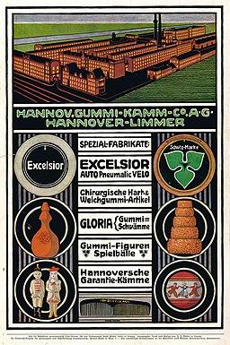 1911-04-20 Illustrirte Zeitung S. 0100 S. 066Hannoversche Gummi-Kamm Co. AG Hannover-Limmer Änne Koken