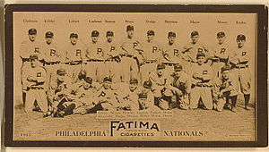 1913 Philadelphia Phillies season - The 1913 Philadelphia Phillies