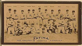 1913 Philadelphia Phillies season - The 1913 Philadelphia Phillies