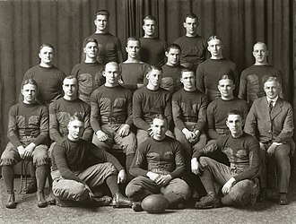 1917 Michigan Wolverines football team - Image: 1917 Michigan Wolverines football team