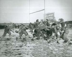 Hagemeister Park - A high school football game played at Hagemeister Park between Marinette and Watertown on December 8, 1917