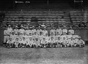 1922 New York Yankees season - The 1922 New York Yankees