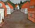 1925, Abendliche Dorfstrasse, Friedrich (Fritz) Busack,.jpg