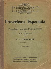 Proverbaro Esperanta cover