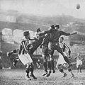 1926–27 Divisione Nazionale, Group A - Genoa CFC v FBC Juventus - Combi, Gencsy and Romano II.jpg