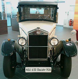 NSU Motorenwerke - NSU 6/30 (1928)