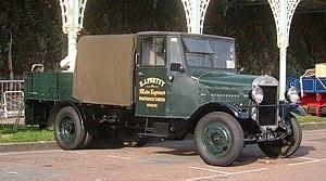 Thornycroft - Preserved 1934 Thornycroft Handy dropside lorry