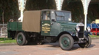 Thornycroft - Preserved 1934 Thornycroft Handy dropside lorry