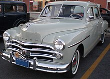 dodge deluxe wikipedia 1949 1952 Dodge Wayfarer 1950 dodge special deluxe the last year for the nameplate canada