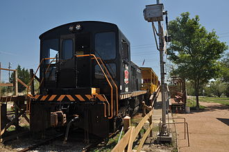 Baldwin RS-4-TC - Image: 1954 Baldwin 0 4 4 0 Diesel Electric Switcher at Texas Transportation museum