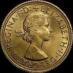 1959 sovereign Elizabeth II obverse.jpg