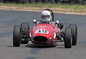 Australian Formula Junior Championship - An Elfin FJ similar to the car in which Frank Matich won the 1962 Australian Formula Junior Championship