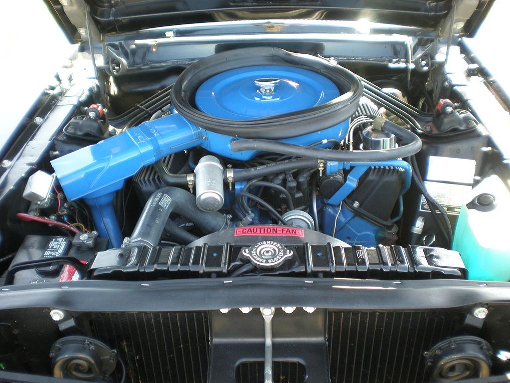 File 1968 Black Shelby Mustang Gt500kr Engine Jpg