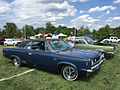 1969 AMC Rebel SST 2-door hardtop in blue at 2015 AMO show 1of5.jpg