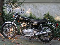 Norton Commando 850 uit 1973