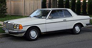 Grey import vehicle - 1977 Mercedes-Benz 230C manual transmission grey market import