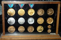 1988 Olympic Winter Games medals.JPG