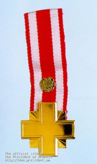 Orders, decorations, and medals of Armenia -  Order of Combat Cross of the First Degree