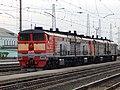 2ТЭ10М-2279, Россия, Самарская область, станция Сызрань (Trainpix 162229).jpg
