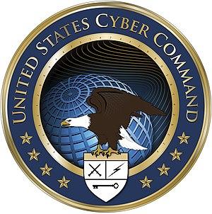 English: USCYBERCOM Logo