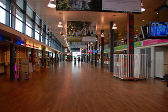 Rotterdam The Hague Airport - Check-in area